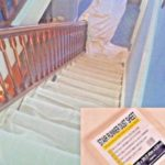Stair Dust Sheet